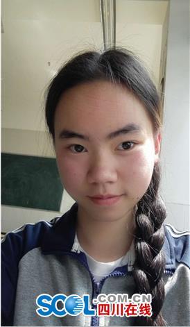 眉山文科第一名雷蕾爱看网络小说的大学女生宿舍个性女孩图片