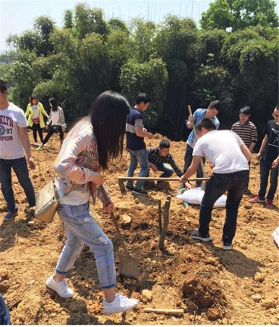 甄新鲜宅配众筹认种果树 助力中复村产业扶贫