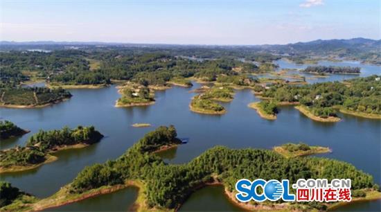 全省3处!仁寿黑龙滩接受国家湿地公园考察验收组验收